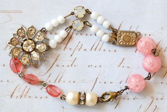 vintage jewelry upcycle