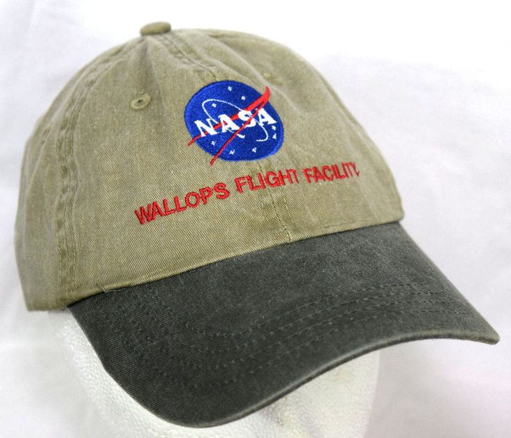 NASA Hat Wallops Flight Facility Outer Space Baseball Cap Unisex One Size