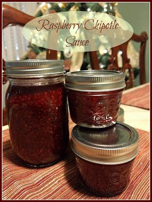 Mulberry Chipotle Sauce/ Raspberry Chipotle Sauce Recipe
