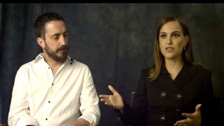 Natalie Portman & Pablo Larraín Interview [Jackie Movie]