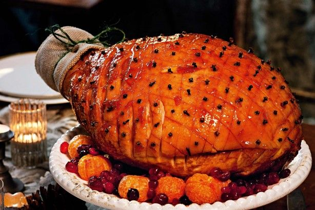 Nothing says Christmas quite like a sweet roasted leg of ham.