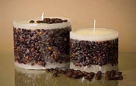 Resultado de imagen para como hacer velas con granos de cafe