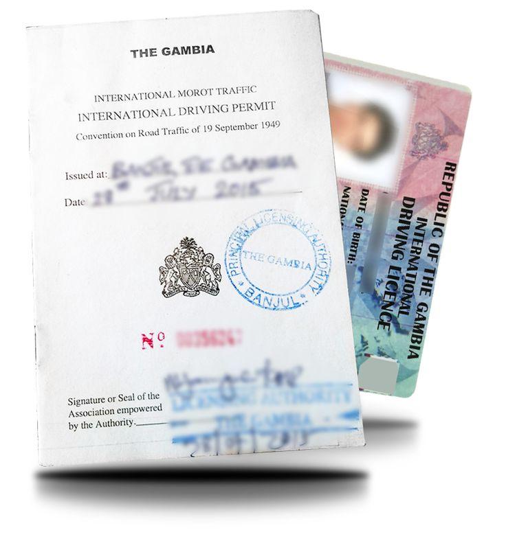 Prawo Jazdy Gambia
