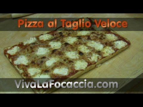 Ricetta Pizza al Taglio Fatta in Casa
