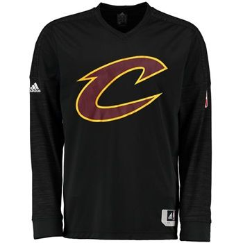 Temperatures are getting cooler, days are getting shorter, and your Cleveland Cavaliers are getting ready to make another run for the championship! Make sure you're prepared for an epic season with this 15-16 Black On Court Long Sleeve Shooter from adidas.
