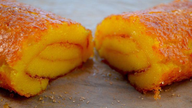 Torta de Laranja - Portuguese orange roll