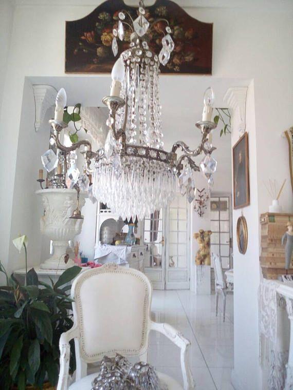 Guarda questo articolo nel mio negozio Etsy https://www.etsy.com/it/listing/534470769/new-set-chandeliersconces-empire-10