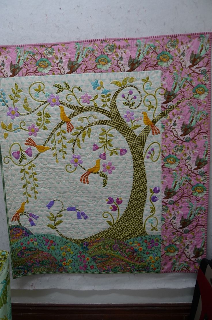 Lovely Tree Quilt From Material Obsession Website