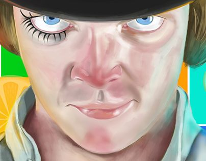 "Check out new work on my @Behance portfolio: ""Alex DeLarge"" http://on.be.net/1SqKfMr"