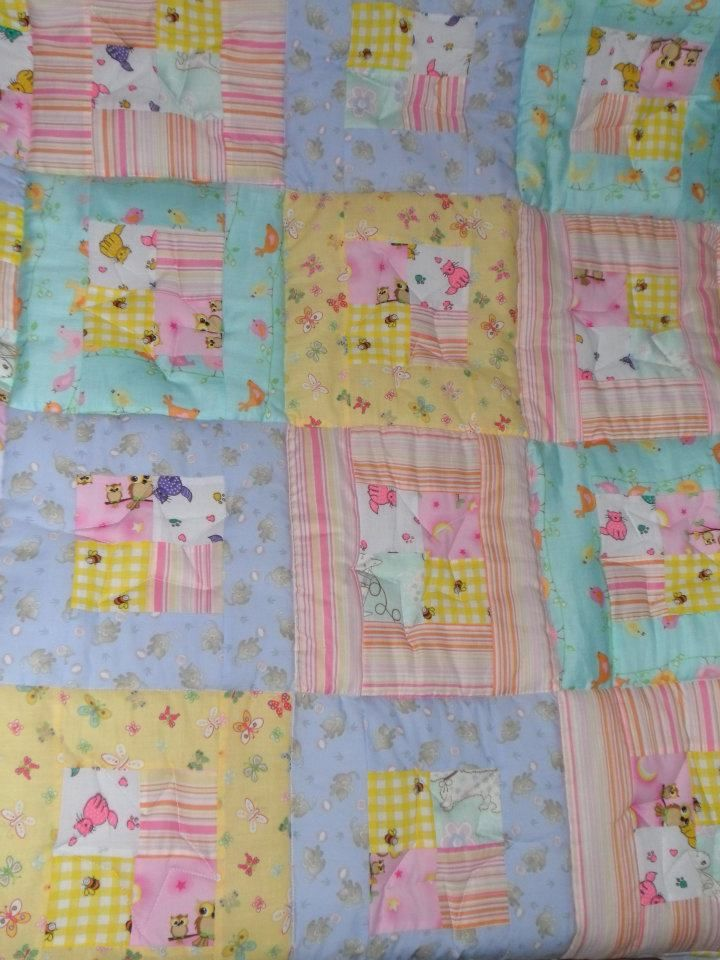 Baby quilt for Jess
