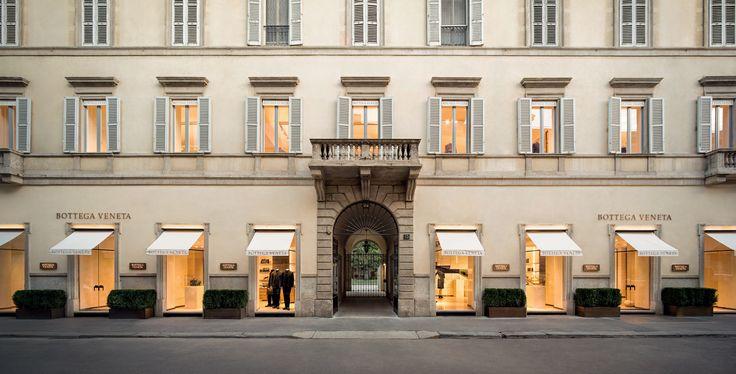 #BottegaVeneta Maison, Via San't Andrea 15, #Milan