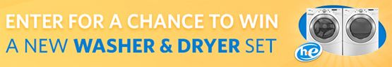 Win a New Washer & Dryer free-stuff-unlimited.com