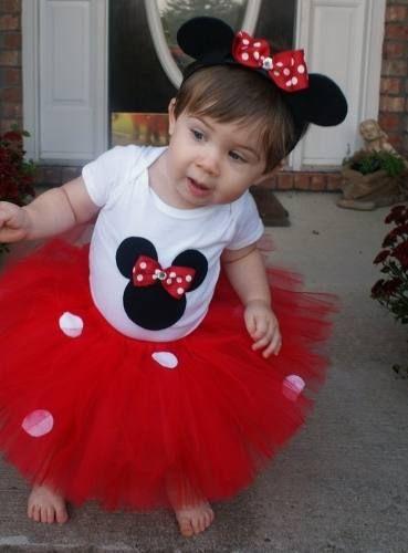 Tutu Niña Tutus Mimi, Minnie Mouse, Mickey $600 Hwo