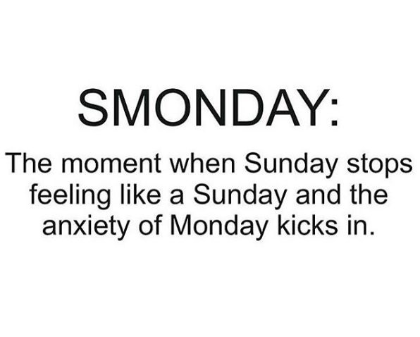 Smonday - funny quotes - http://jokideo.com/smonday-funny-quotes/