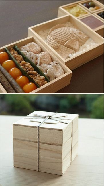 Assorted Box of Japanese Sweets for New Year Celebration (Osechi-Style)