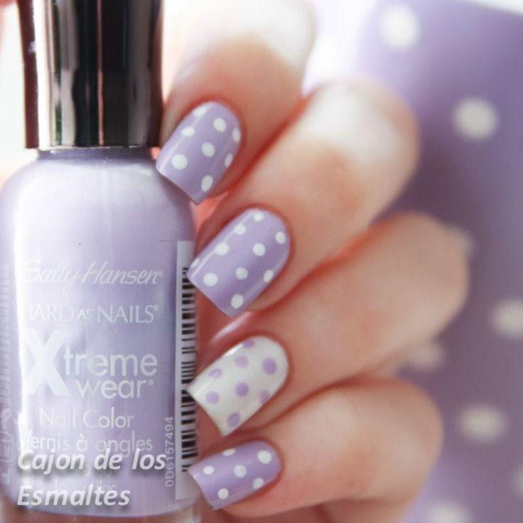 14 adorable polka dot nails art you can totally copy