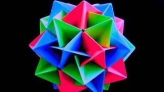 How to make an Origami Twinboat Icosahedron, via YouTube.