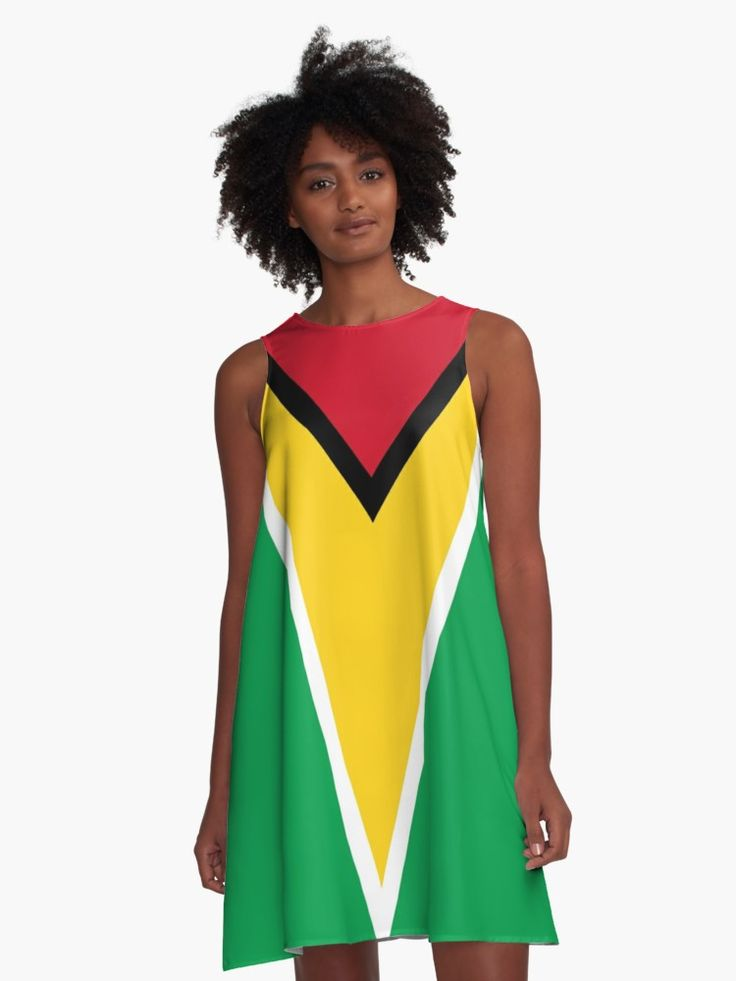 GUYANA FLAG by planetterra