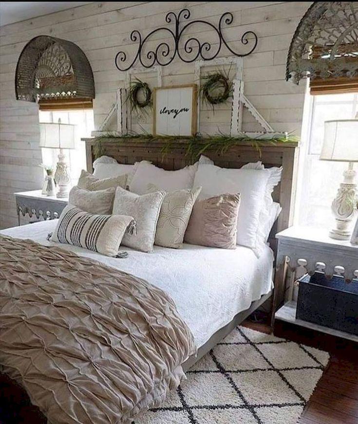 Schone 55 Besten Modernen Bauernhaus Schlafzimmer Dekor Ideen Quelle Link Moodecor Co Schlafzimmer Design Zimmer Schlafzimmer Dekor Ideen
