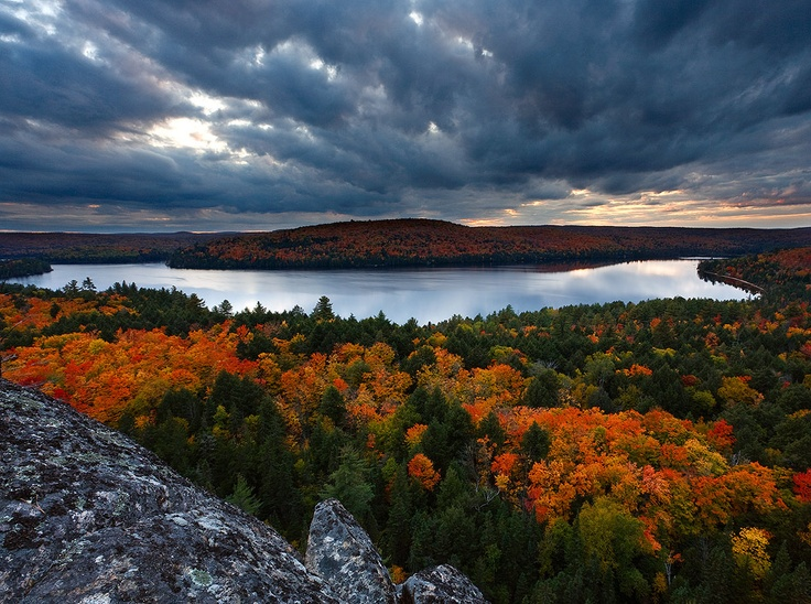Algonquin Provincial Park, Canada.  We need to go back (you know who you are)!
