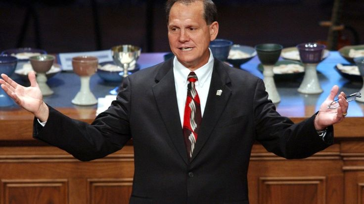 awesome The Alabama Supreme Court's chief justice was just suspended for opposing gay marriage rights