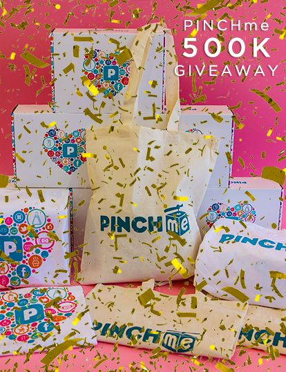 I entered to win the #PINCHme500K Fan Giveaway, you should too!