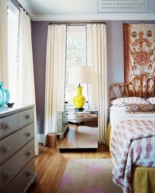 hippie chic #bedroom definitely need some pattern behind my headboard.... still dreaming up new ideas for the bedroom decor!