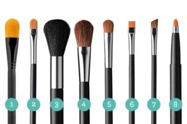 Pinceles De Maquillaje CentralMODA.COM