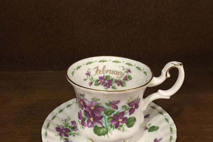 "www.elisa-regali.it Royal Albert tazze caffè dei mesi ""flowers of the month""   Elisa - Regali, Bomboniere e articoli per la casa"