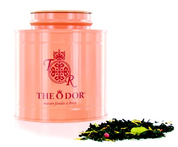 Thé O'dor from Paris really steps up the luxurious aspect of tea drinking with their unique blends and beautiful tins. I would love to have a set of these in my tea cabinet.