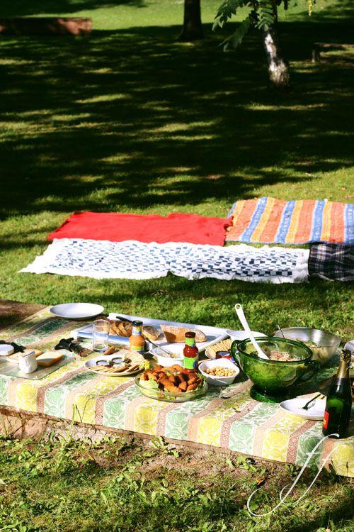 a las, a true picnic