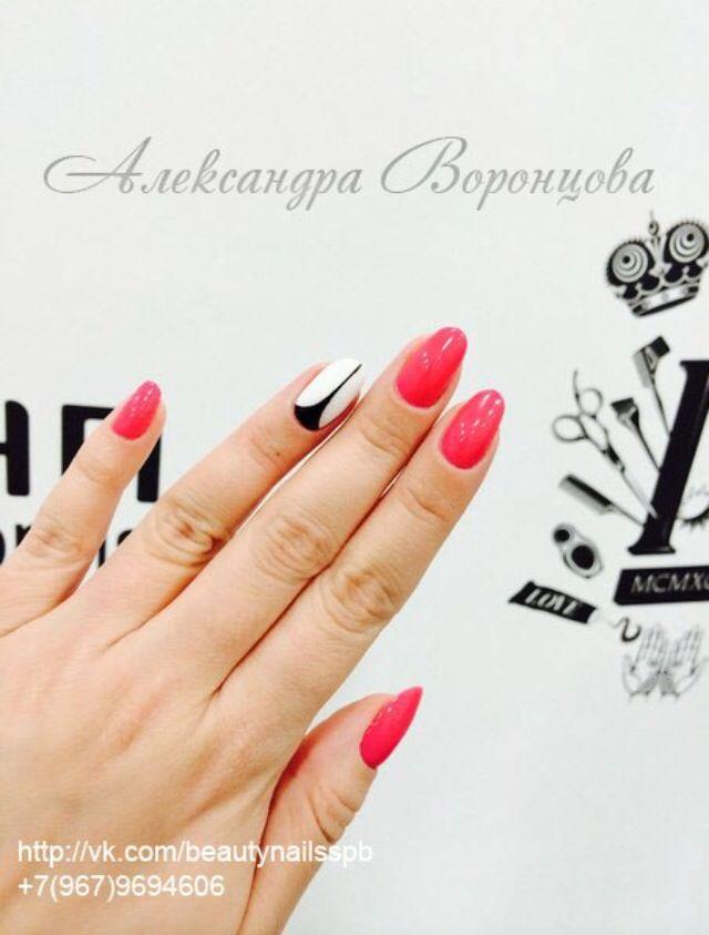 Как же я люблю стильный маникюр на каждый день♥️и кто сказал,что он должен быть однотонным#ногти #ногти2015 #ногтиспб #модныйманикюр #шеллак #маникюр #дизайнногтей#cnd#shellac #nails #nailsdesign #fashionnails