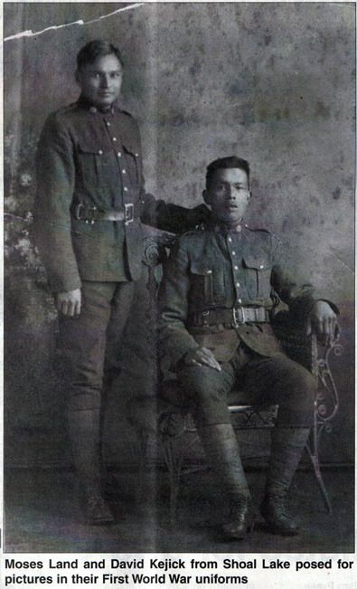 Canadian Great War Project Image;  My Daughter's and sons Great Grandfather David Kejick    -Standing