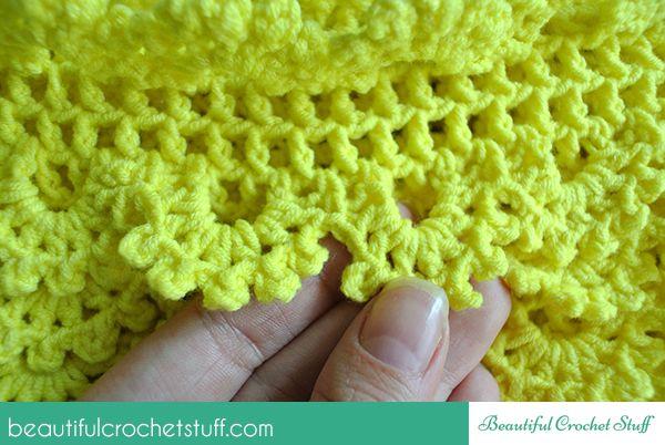 Layered Crochet Skirt Free Pattern