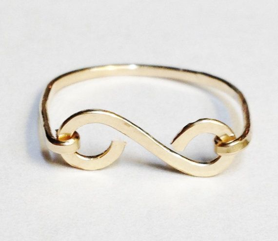 Gouden Ring Scroll Ring 14K Gold Filled Ring 14K gouden