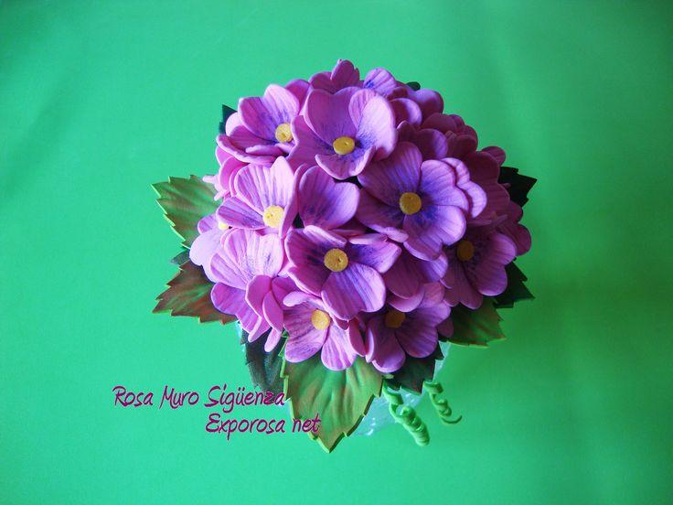 Flores de g ma eva foam flowers pinterest - Flore de goma eva ...