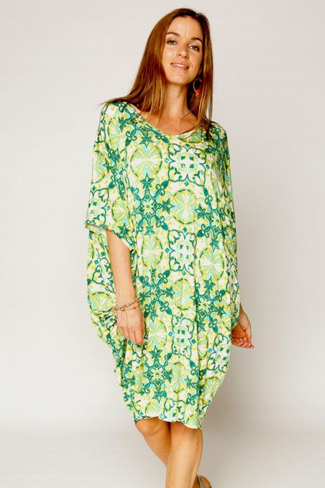 Jungle Bamboo Batwing Dress - What's New