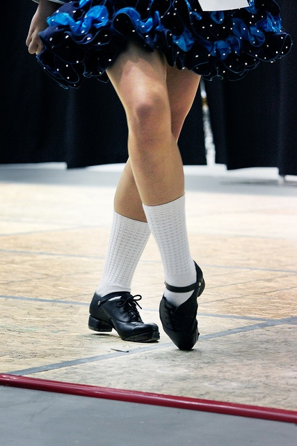 hard shoes and poodle socks