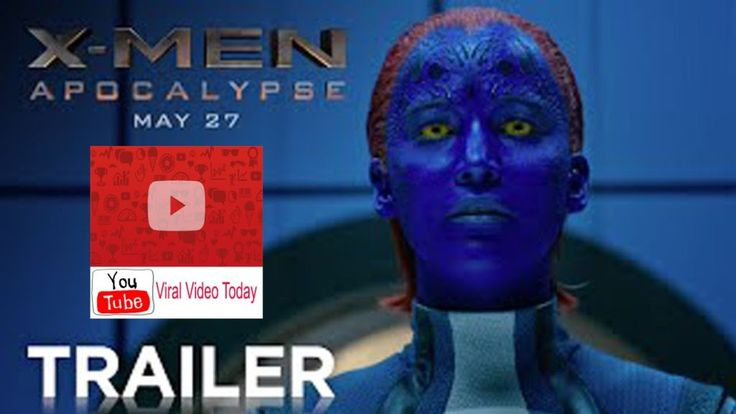 YouTube Viral Video Today  X Men  Apocalypse   Official Trailer HD   20th Century FOX