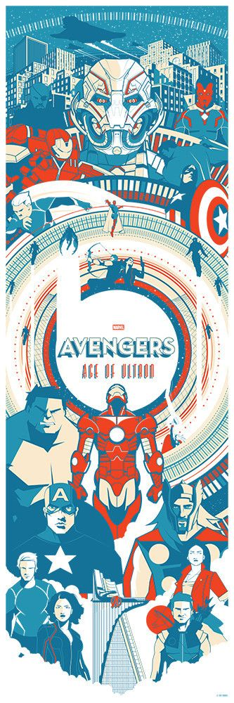 "Avengers - Age of Ultron - Marinko Milosevski ---- Hero Complex Gallery presents ""Marvel's Avengers: Age of Ultron Art Showcase"" (2015-05)"