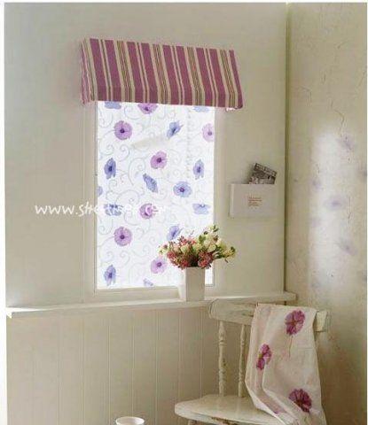 Цветы стеклянные наклейки для ванной комнаты украшения наклейки оконные пленки