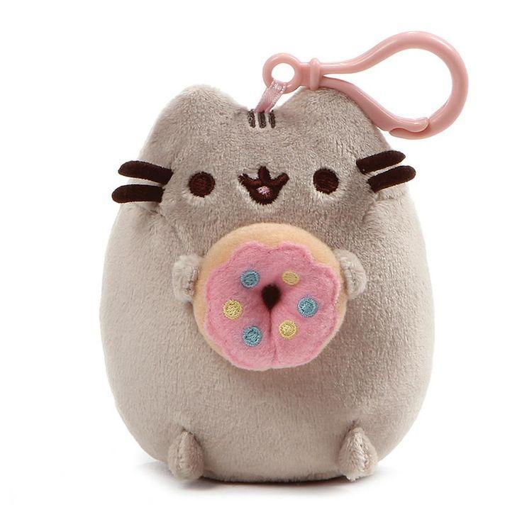 Pusheen Backpack Clip Donut