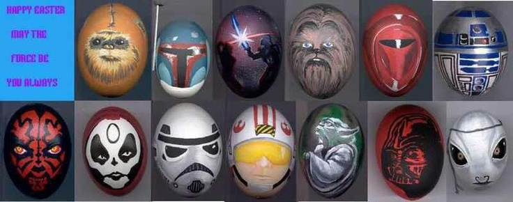 Cool Easter eggs, Star Wars style! :)