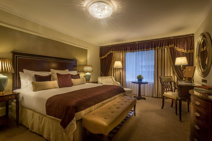 Bedroom At The Shelbourne Hotel Dublin