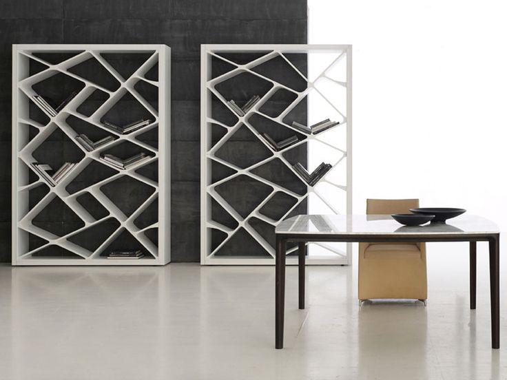 Awesome Concrete furniture: ideas for home decor, Shanghai bookcase, Giuseppe Bavuso, Alivar, 2012 |