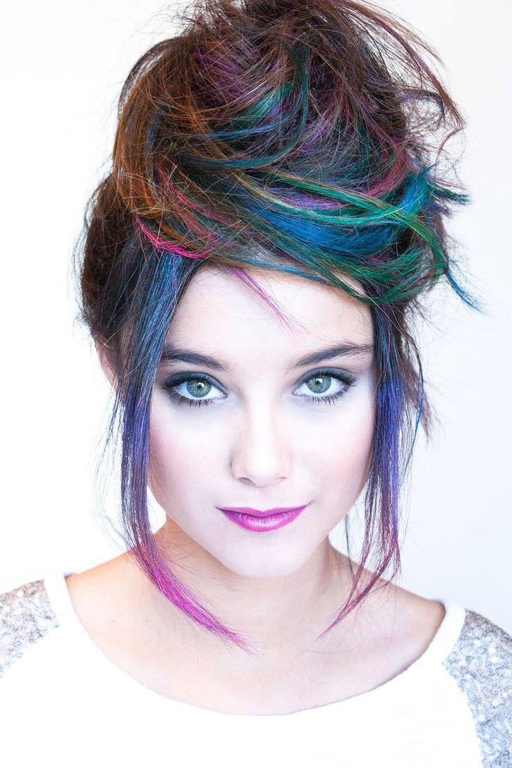 Loreal hair color quiz - Idea For The Hair Chalk Coloring Hair Spray Or Mascara Use
