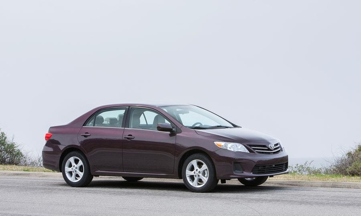 The LE special edition 2013 Toyota Corolla includes 16-inch alloy wheels.