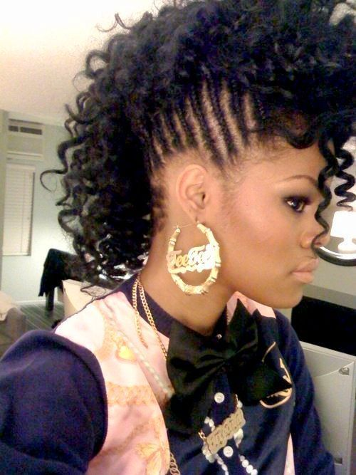 Natural hairstyle for black women_21