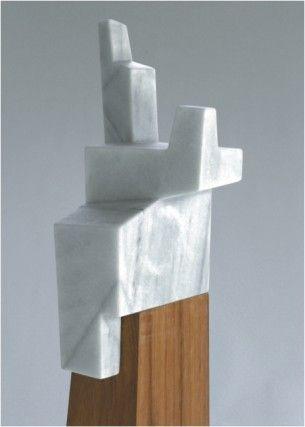 jorge oteiza. marble & wood