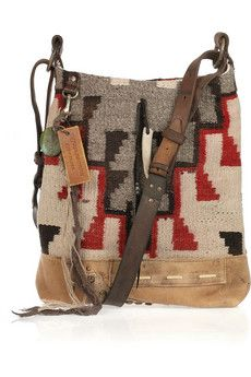 so this is a ralph lauren bag, but i think it could actually be quite easy to DIY - thrifted sweater and a little investment in hardware and maybe some leather or suede for structure... i have to do this for real.